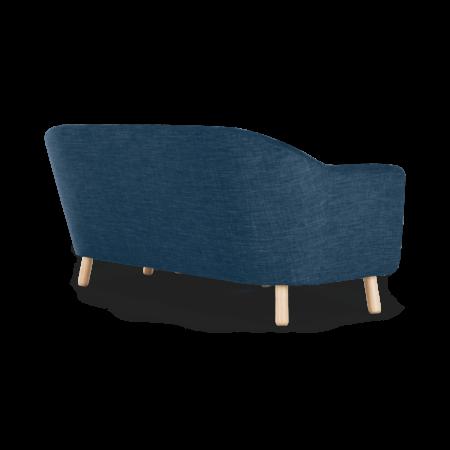Lottie Compact Chaise End Corner Sofa, Harbour Blue